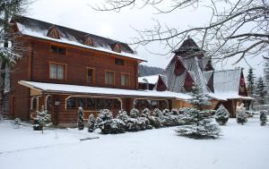 Зимова колиба і готель